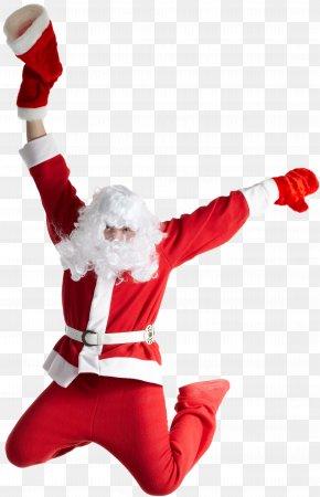 Red Ribbon Santa Claus - Santa Claus Christmas Ded Moroz Greeting & Note Cards New Year PNG