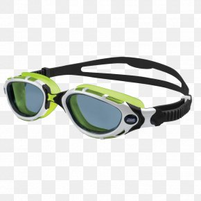 Flex - Swedish Goggles Zoggs Swimming Lens PNG