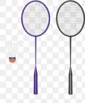Cartoon Badminton Racket - Badminton Racket Cartoon PNG
