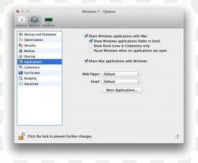 Lockers - Computer Program Directory Dock Screenshot PNG