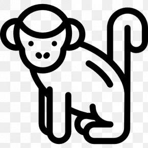 Monkey - Ape Primate Monkey Clip Art PNG