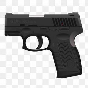 Handgun - Firearm Handgun Clip Art PNG
