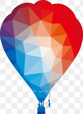 Cartoon Vector Color Hot Air Balloon - Hot Air Ballooning Silhouette PNG