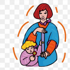 Mothers With Children - Mother Child Clip Art PNG