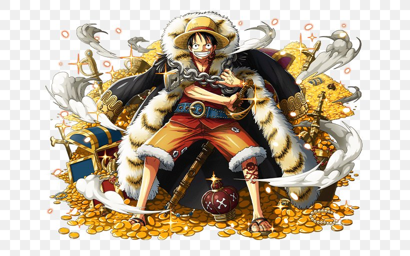 One Piece Treasure Cruise Monkey D. Luffy Shanks Usopp Roronoa Zoro, PNG, 640x512px, One Piece Treasure Cruise, Art, Edward Newgate, Fictional Character, Monkey D Luffy Download Free