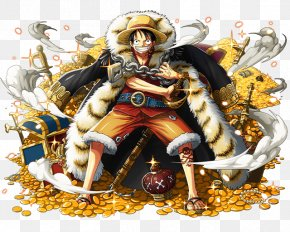 One Piece - One Piece Treasure Cruise Monkey D. Luffy Shanks Usopp Roronoa Zoro PNG