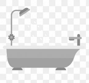 Vector Bathroom - Bathroom Bathtub Bathing PNG