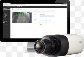 Camera - Hanwha Techwin Closed-circuit Television IP Camera Surveillance PNG