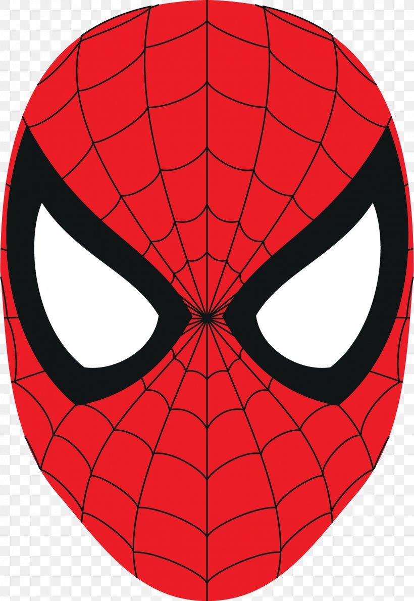 Spider-Man Logo Mask Clip Art, PNG, 1632x2368px, Spiderman ...