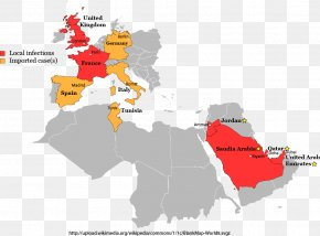 Saudi Arabia Map - 2012 Middle East Respiratory Syndrome Coronavirus Outbreak PNG