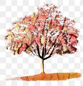 Artificial Flower Autumn - Autumn Tree Branch PNG