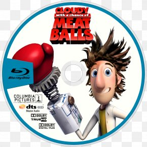 Cloudy With A Chance Of Meatballs - Cloudy With A Chance Of Meatballs Mayor Shelbourne YouTube Blu-ray Disc PNG