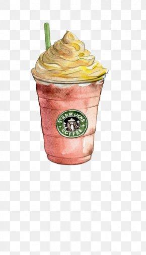 Cartoon Strawberry Frappuccino - Coffee Irish Cuisine Indian Cuisine Flat White Clip Art PNG