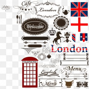 British Element Vector - London Royalty-free Illustration PNG