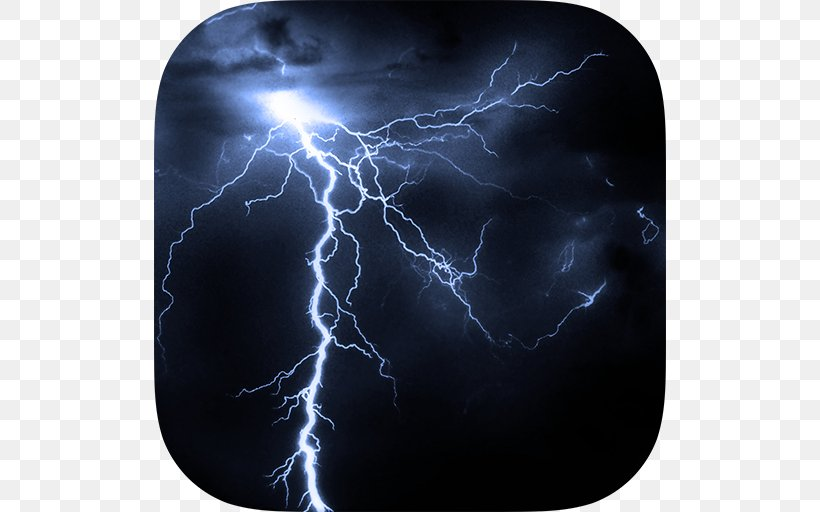 Thunderstorm Lightning Strike Catatumbo Lightning, PNG, 512x512px, Thunderstorm, Catatumbo Lightning, Cloud, Electric Blue, Electricity Download Free