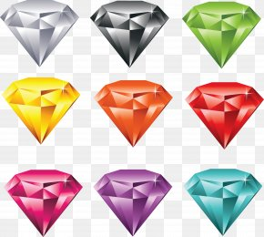 Color Diamonds Images - Gemstone Royalty-free Jewellery Clip Art PNG