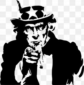 Uncle Sam Hat - Index Finger Clip Art Pointing Vector Graphics PNG