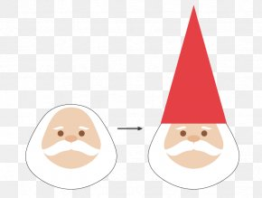 Adobe Illustrator Garden Gnome Illustration Santa Claus PNG