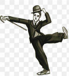 The Tramp Comedian Cartoon Drawing PNG