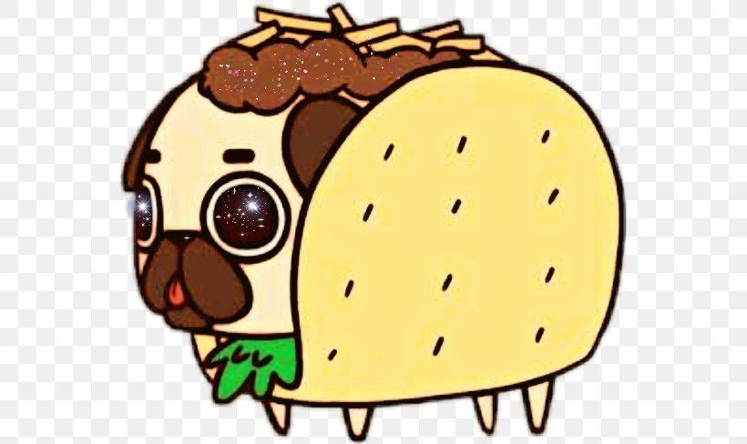Pug Taco Puppy Drawing Bulldog Png 557x488px Pug Art Bulldog Burrito Cartoon Download Free