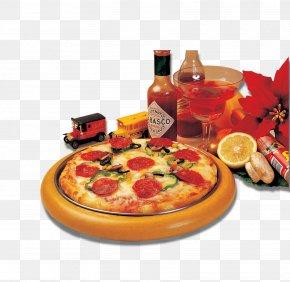 Pizza - Pizza Hamburger Italian Cuisine McDonalds Wallpaper PNG