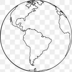 Earth - Earth Coloring Book Child Page Globe PNG