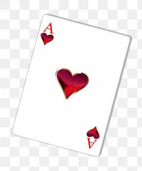 Ace Card - Ace Of Hearts Trickster Oh Hell Playing Card PNG