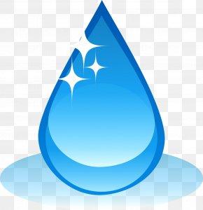 Blue Water Drop - Drop Water HP LaserJet 1020 PNG