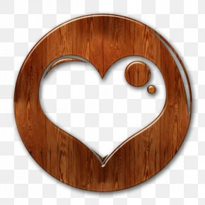 Wood Icon - Wood Heart Clip Art Transparency PNG