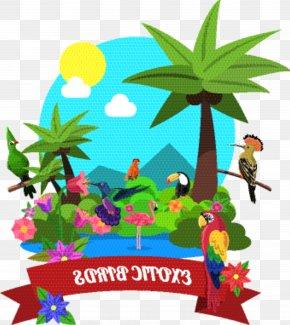 Palm Tree Plant - Cartoon Palm Tree PNG