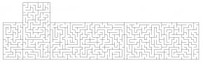 Maze Cliparts - Pennsylvania Game .com Paper Black And White PNG