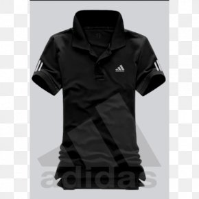 T-shirt - T-shirt Polo Shirt Red Black PNG