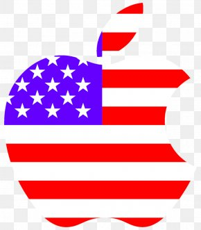 USA - Flag Of The United States Logo Independence Day Sticker PNG