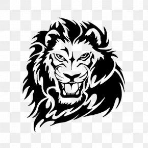 Lion - Lion Tattoo Clip Art PNG