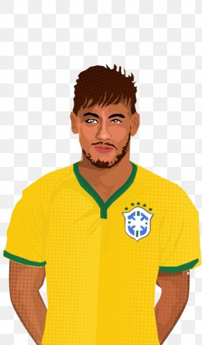 Exame Vector - Neymar 2018 World Cup 2014 FIFA World Cup Brazil National Football Team PNG