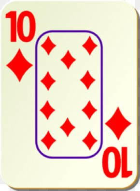 Ten Cliparts - Playing Card 0 Hearts Clip Art PNG