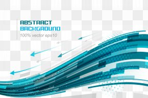 Technology Background - Euclidean Vector Blue Curve Line PNG