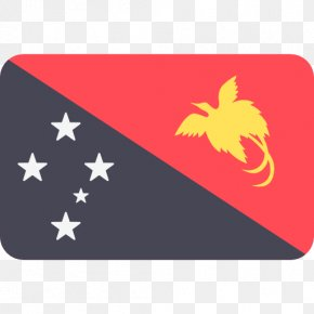 PAPUA NEW GUINEA - Flag Of Papua New Guinea Port Moresby Flags Of The World PNG