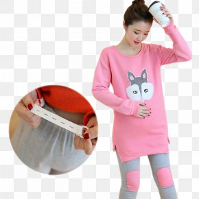 Month Of Service For Pregnant Women - Pajamas T-shirt Tracksuit Breastfeeding PNG