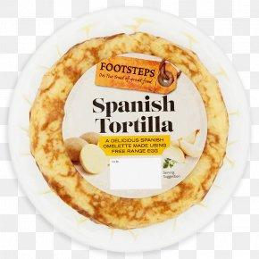 Spanish Omelette - Vegetarian Cuisine Spanish Omelette Fried Egg Food French Fries PNG