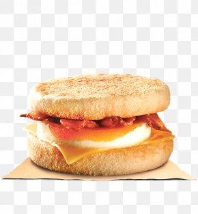 Egg Roll - English Muffin Hamburger Fast Food Breakfast Sandwich PNG