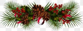 Garland - Garland Christmas Wreath Clip Art PNG