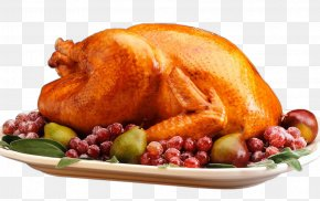 The Fruit Bowl Of Roast Duck - Roast Chicken Roasting Turkey Meat Cooking PNG