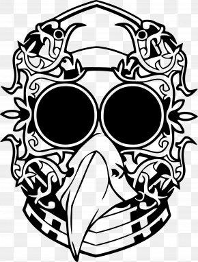Tribal Art - Mask Drawing Mardi Gras Clip Art PNG