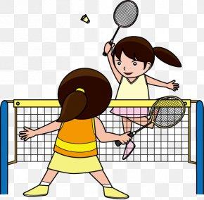 Play Badminton - Sport Badminton Racket Clip Art PNG