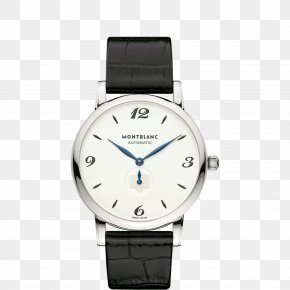 Montblanc Silver Watch Male Watch - Montblanc Automatic Watch Movement Watchmaker PNG