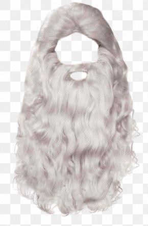 Beard - Santa Claus Mrs. Claus Beard PNG
