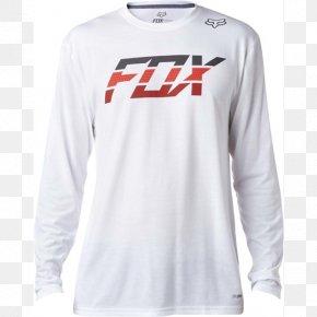T-shirt - T-shirt Fox Racing Hoodie Clothing PNG