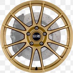 Four-wheel - Alloy Wheel Car Rim OZ Group Spoke PNG