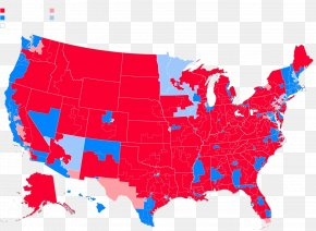 United States - Federal Government Of The United States Blank Map US Presidential Election 2016 PNG